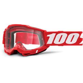 100% Accuri Anti-Fog Goggles Gen2, czerwony